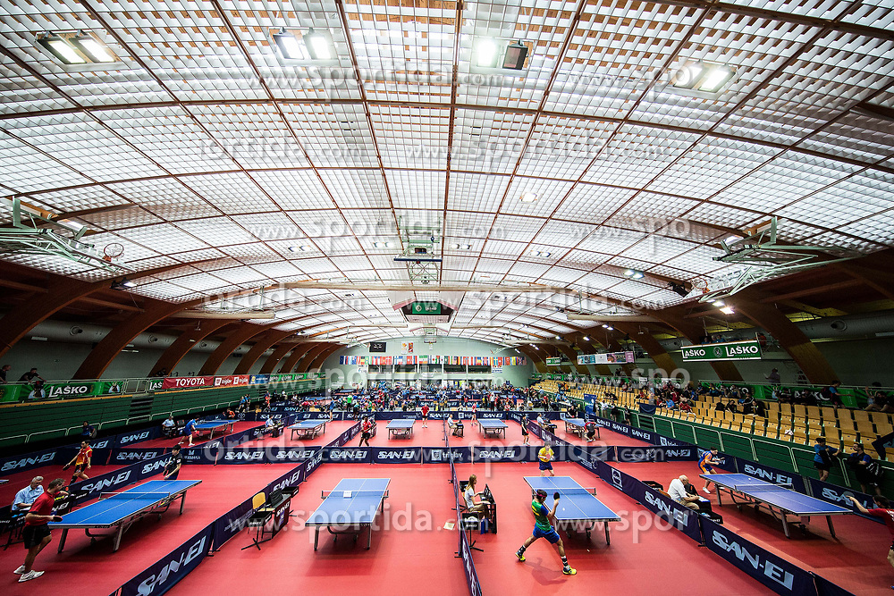 Arena in action during Day 1 of 15th Slovenia Open - Thermana Lasko 2018 Table Tennis for the Disabled, on May 9, 2018, in Dvorana Tri Lilije, Lasko, Slovenia. Photo by Vid Ponikvar / Sportida