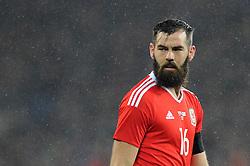 Joe Ledley of Wales - Mandatory by-line: Dougie Allward/JMP - Mobile: 07966 386802 - 24/03/2016 - FOOTBALL - Cardiff City Stadium - Cardiff, Wales - Wales v Northern Ireland - Vauxhall International Friendly