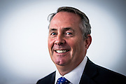 UNITED KINGDOM, London: 4 July 2016 Liam Fox launches his bid to become the new leader of the Conservative party in Central London. Pic by Andrew Cowie / Story Picture Agency