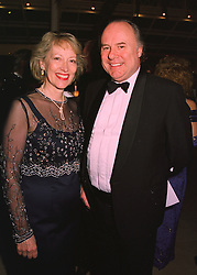 The RT.HON CHARLES WARDLE MP Conservative MP for Bexhill & Battle and MRS WARDLE, at a party in London on 23rd March 1998.MGH 39