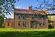 The Samuel Brooks house on the Battle Road, Minute Man National Historic Park, Massachusetts