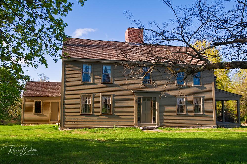 The Samuel Brooks house on the Battle Road, Minute Man National Historic Park, Massachusetts