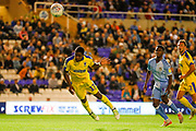 AFC Wimbledon forward Michael Folivi (17), on loan from Watford,  during the EFL Sky Bet League 1 match between Coventry City and AFC Wimbledon at the Trillion Trophy Stadium, Birmingham, England on 17 September 2019.