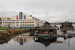 United States, Washington, Seattle, South Lake Union, Museum of History and Industry (MOHAI) and Center for Wooden Boats
