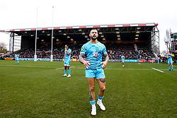 Francois Hougaard of Worcester Warriors - Mandatory by-line: Robbie Stephenson/JMP - 16/02/2019 - RUGBY - Twickenham Stoop - London, England - Harlequins v Worcester Warriors - Gallagher Premiership Rugby