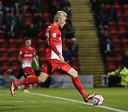 Picture by David Horn/Focus Images Ltd +44 7545 970036<br /> 17/09/2013<br /> Jayden Stockley of Leyton Orient scores to make it 5-1 during the Sky Bet League 1 match at the Matchroom Stadium, London.