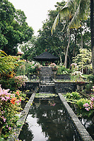 Ponds and lush greenery at the InterContinental Bali Resort Jimbaran Beach.