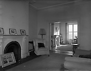 29/01/1958<br /> 01/29/1958<br /> 29 January 1958<br /> <br /> Interior of House at Mespil Road, Dublin for Mrs Pauline Mrgan, Royal Hibernian Hotel.