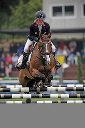 Pritchard Christie (GBR) - Waldemar<br /> FEI European Jumping Championship for young riders <br /> Arezzo 2014<br /> © Hippo Foto - Stefano Secchi