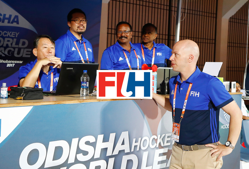 Odisha Men's Hockey World League Final Bhubaneswar 2017<br /> Match id:15<br /> Spain v Australia<br /> Foto:FIH Table<br /> COPYRIGHT WORLDSPORTPICS KOEN SUYK