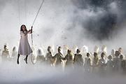 07.02.2014. Sochi, Russia.  Opening Ceremonies for the XXII Olympic Winter Games Sochi 2014. FISHT Stadium, Adler/Sochi, Russia.