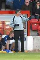 Photo: Dave Linney.<br />Walsall v Torquay United. Coca Cola League 2. 04/11/2006. Torquay Mgr Ian Atkins