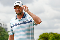 October 13, 2018 - Kuala Lumpur, Malaysia - Marc Leishman of Australia pictured during round three of the CIMB Classic at TPC Kuala Lumpur on 13 October, 2018 in Kuala Lumpur, Malaysia  (Credit Image: © Chris Jung/NurPhoto via ZUMA Press)