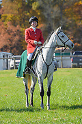 at the Pennsylvania Hunt Cup Races in Unionville, Pa. on 4 November 2018. Photograph by Jim Graham