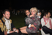 OSCAR BELLVILLE; BELLA HOWARD; Bella Howard 30th birthday, Castle Howard, Dress code: Flower Fairies and Prince Charming, 3 September 2016