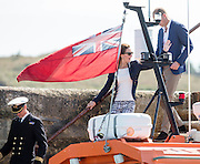 TRESCO - BRAZIL - 2nd Sept 2016.<br /> The Duke and Duchess of Cambridge visit the island of Tresco in the Scilly Isles. Walking though Tresco Gardens.<br /> @Ian Jones/Exclusivepix Media