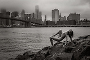 People In Art - On The Bridge, In The Park, In The Streets, In A Cozy Corner.<br /> Fine Art, Artistic Photography, People In Art by New York City photographer Vitus Feldmann