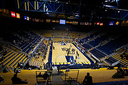 November 16, 2010; Berkeley, CA, USA;  General view of Haas Pavilion before the game between the California Golden Bears and the Cal State Northridge Matadors.