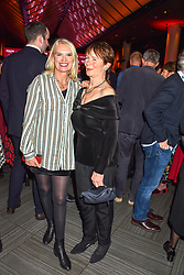 Anneka Rice and Celia Imrie at the Costa Book of The Year Award held at  Quaglino's, 16 Bury Street, London, England. 29 January 2019. <br /> <br /> ***For fees please contact us prior to publication***