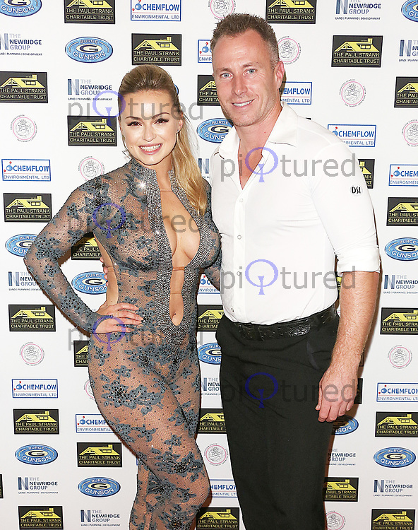 Ola Jordan & James Jordan, Paul Strank Charity Gala 2017, Bank of England Sports Club, London UK, 23 September 2017, Photo by Brett D. Cove