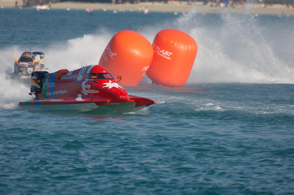ABu Dhabi powerboat championship H2OF1