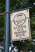 General O.O. Howard House, Officers Row, Fort Vancouver National Historic Park, Washington
