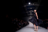 22 Edition of Montreal Fashion Week held at Marche Bonsecours in Old Montreal. February 7, 2012. © Allen McEachern.