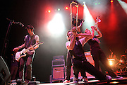Ska band Suburban Legends performing at the Pageant in St. Louis on November 14, 2010