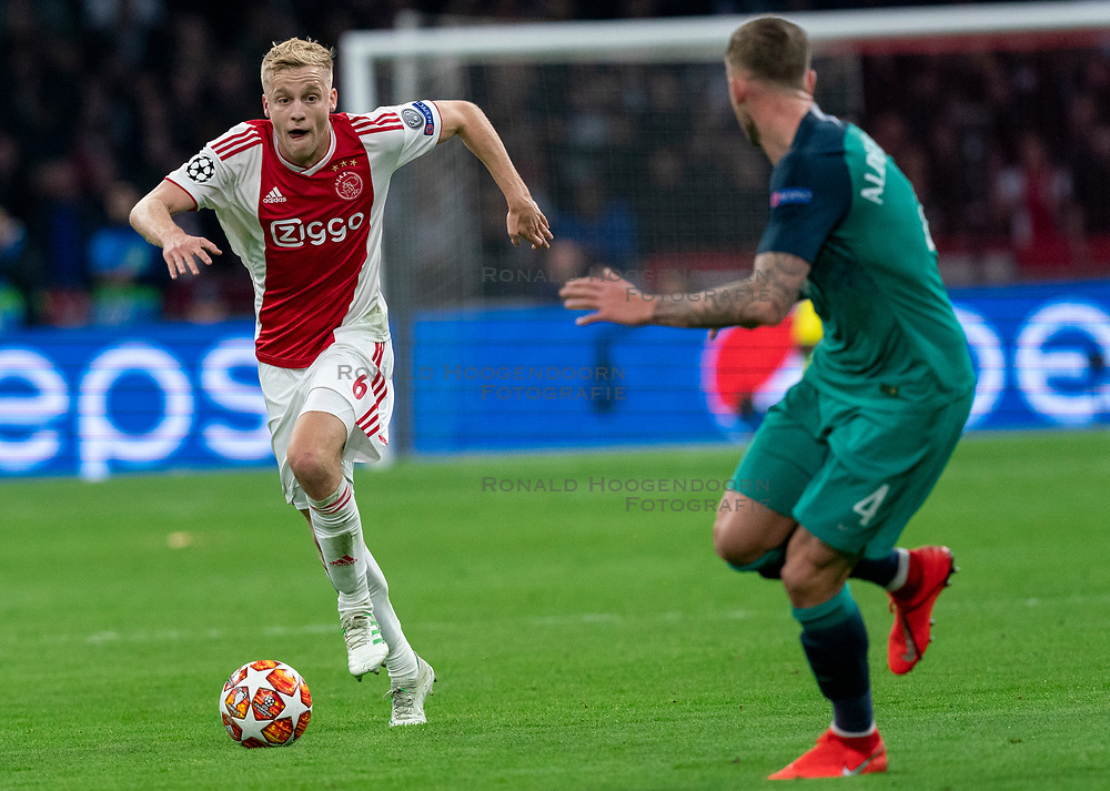 08-05-2019 NED: Semi Final Champions League AFC Ajax - Tottenham Hotspur, Amsterdam<br /> After a dramatic ending, Ajax has not been able to reach the final of the Champions League. In the final second Tottenham Hotspur scored 3-2 / /a