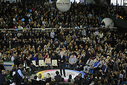 August 9, 2017 - Buenos Aires, Argentina - Buenos Aires Mayor Horacio Rodriguez Larreta  during the campaign closing of the ruling party 'Vamos Juntos' in Buenos Aires, Argentina, 09 August 2017. (Credit Image: © Gabriel Sotelo/NurPhoto via ZUMA Press)