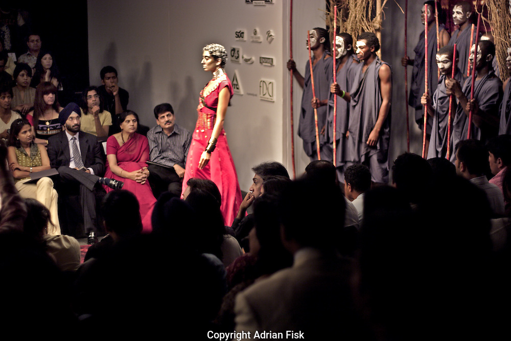 JJ Valaya's show - India fashion week, Autumn - winter collections, New Delhi, April 2006