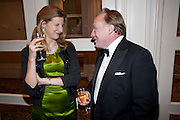 VENETIA BUTTERFIELD; ANDREW ROBERTS, 80th anniversary gala dinner for the FoylesÕ Literary Lunch. Ballroom. Grosvenor House Hotel. Park Lane. London. 21 October 2010. -DO NOT ARCHIVE-© Copyright Photograph by Dafydd Jones. 248 Clapham Rd. London SW9 0PZ. Tel 0207 820 0771. www.dafjones.com.<br /> VENETIA BUTTERFIELD; ANDREW ROBERTS, 80th anniversary gala dinner for the Foyles' Literary Lunch. Ballroom. Grosvenor House Hotel. Park Lane. London. 21 October 2010. -DO NOT ARCHIVE-© Copyright Photograph by Dafydd Jones. 248 Clapham Rd. London SW9 0PZ. Tel 0207 820 0771. www.dafjones.com.