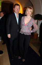 NICK JONES and his wife KIRSTY YOUNG<br />