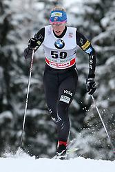 03.01.2012, Nordische Arena, Toblach, ITA, Viessmann Tour de Ski 2011, FIS Langlauf Weltcup, Damen 3,3km Klassik einzel, im Bild KIKKAN RANDALL // during Ladies 3.3 km Classic Individual of Viessmann Tour de Ski 2011 FIS World Cup Cross Country at DNordische Arena, Toblach, Italy on 2012/01/03. EXPA Pictures © 2012, PhotoCredit: EXPA/ Newspix/ Tomasz Markowski..***** ATTENTION - for AUT, SLO, CRO, SRB, SUI and SWE only *****