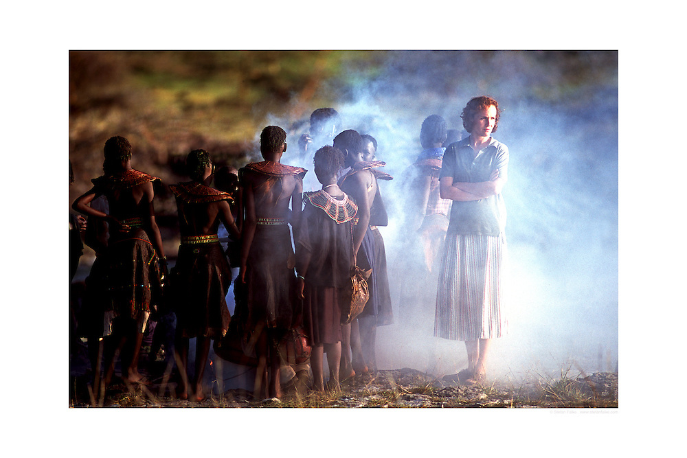 """Juliane Koehler in 'Nowhere in Africa' ('Nirgendwo in Africa').Directed by Caroline Link, is the German film won the 2003 Oscar for Best Foreign Language Film. I shot this image for a magazine on set in Kenya...Prints available in 3 sizes:.20""""x30""""   90.00 $ .24""""x36"""" 150.00 $.30""""x40"""" 180.00 $.personal download: 45 $ and 90 $. .Click 'buy print' and choose your size...Different sizes or comments: stefanfalke@mac.com"""