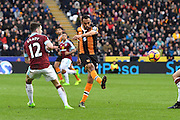Hull City midfielder Ahmed Elmohamady (27) during the Premier League match between Hull City and Burnley at the KCOM Stadium, Kingston upon Hull, England on 25 February 2017. Photo by Ian Lyall.