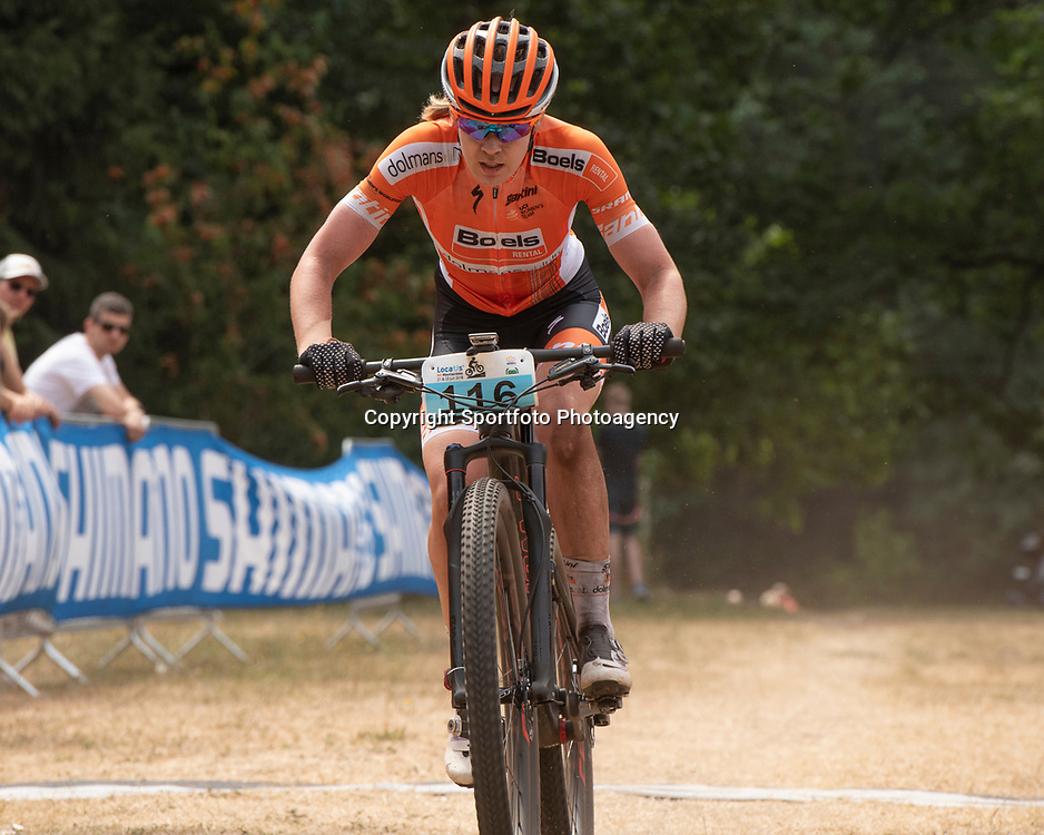 22-07-2018: Mountainbike: NK Mounainbike: Apeldoorn<br /> Anna van der Breggen, tweede in Apeldoorn NK MTB