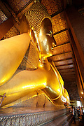 Wat Po, Temple of the Reclining Buddha.