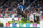 Christian Ahlmann - Little Lady Z<br /> World Equestrian Festival, CHIO Aachen 2013<br /> © DigiShots