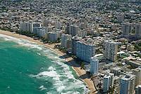 Aerial view of Condado