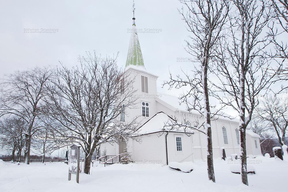 Tiller kirke, Trondheim kommune..Langkirke fra 1901.