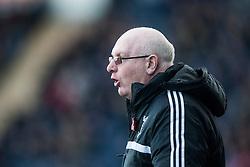 Livingston manager John McGlynn.<br /> Falkirk 4 v 1 Livingston, Scottish Championship game played today at the Falkirk Stadium.