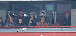 LIVERPOOL, ENGLAND - Wednesday, January 20, 2016: Former Liverpool Chief Executive Rick Parry watches the Reds win 3-0 against Exeter City during the FA Cup 3rd Round Replay match at Anfield. (Pic by David Rawcliffe/Propaganda)