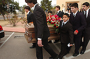 "The funeral of Salvatore ""Bill"" Bonanno, the former acting head of one of New York's Mafia families and son of Prohibition era crime boss Joseph Bonanno, was held at Ss. Peter and Paul Catholic Church in Tucson, Arizona on January 7, 2008.  He died at the age of 75."