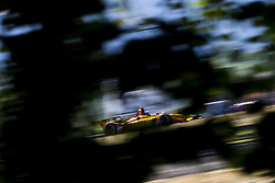 August 31, 2018 - Portland, Oregon, United Stated - RYAN HUNTER-REAY (28) of the United States takes to the track to practice for the Portland International Raceway at Portland International Raceway in Portland, Oregon. (Credit Image: © Justin R. Noe Asp Inc/ASP via ZUMA Wire)