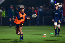 Ollie Lawrence of Worcester Warriors during the pre match warm up - Mandatory by-line: Craig Thomas/JMP - 03/11/2017 - RUGBY - Sixways Stadium - Worcester, England - Worcester Warriors v Sale Sharks - Anglo Welsh Cup
