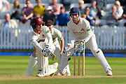 Dom Bess of Somerset batting during the Specsavers County Champ Div 1 match between Somerset County Cricket Club and Lancashire County Cricket Club at the Cooper Associates County Ground, Taunton, United Kingdom on 5 September 2018.