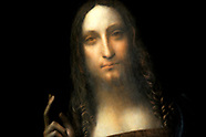 Leonardo Da Vinci Salvator Mundi Smashes Records - 15 Nov 2017