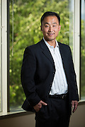 James Chung, Chief Technology Officer of Rainmaker Systems, Inc., poses for a portrait at the Rainmaker Systems, Inc. campus in Campbell, California, on April 25, 2013. (Stan Olszewski/SOSKIphoto)