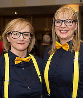 Nuala Burke and Niamh Fahy Aerogen Resonance who performed at Choir Factor in the Radisson Blu.<br /> Choir Factor is a fundraiser for The Sccul Sanctuary, Therapeutic Support Centre in Kilcornan Clarenbrdge.<br /> <br />  Photo:Andrew Downes, xposure.